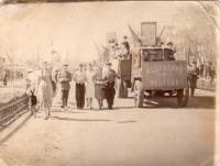 1 мая 1953г. Демонстрация, Мебельная фабрика (прислала: Наталья Панафидкина)