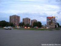 Центр города, вечер
