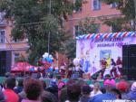 Рубцовск День города Серпантин