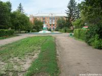 пл.Ленина, фонтан