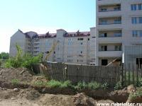 Долгострой на пересечении Проспекта и Рубцовского