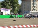 Рубцовск День Города. Площадь Ленина. На следующий день, картинги
