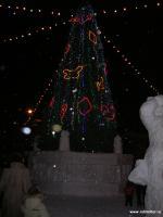 Зима. Новогодняя елка на пл. Ленина