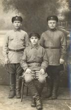 Рубцовск Три красноармейца