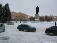 пл. Ленина, зима