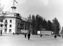 Рубцовск 1967г. Детский парк (бывшая пл.Сталина)