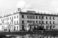 Перекресток пр.Ленина - пер.Гражданский (60-е)