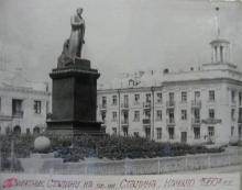 Рубцовск пл.Сталина 1950г.