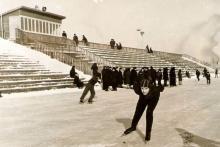 Рубцовск На стадионе 1963 год (прислано: Nikolaj Nepscha)